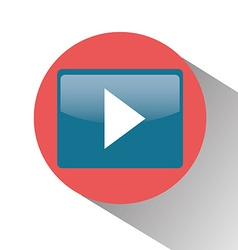 Play video symbol vector