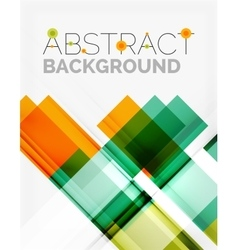 Straight glossy geometric design lines vector