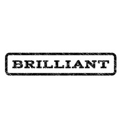 Brilliant watermark stamp vector