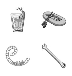 car mechanician leisure business and other vector image vector image