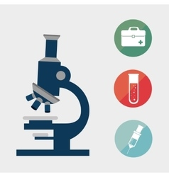 Microscope research tool vector