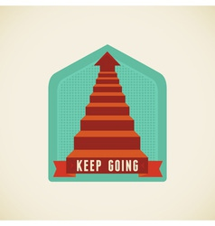 Keep going vector