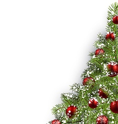 Christmas white background vector