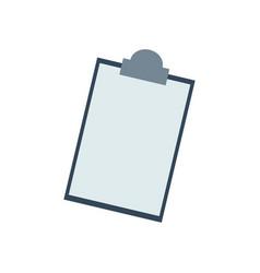 clipboard checklist report medical equipment vector image vector image