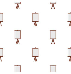 Easel pattern seamless vector