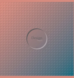 multicolor background of circle pattern texture vector image