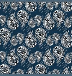 ornamental pattern vintage texture seamless vector image vector image