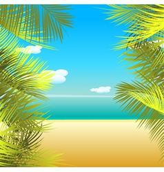 summmer background vector image vector image