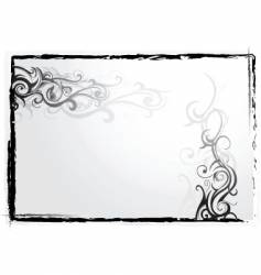 Tattoo frame vector