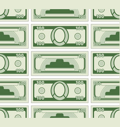 abstract currency pattern vector image
