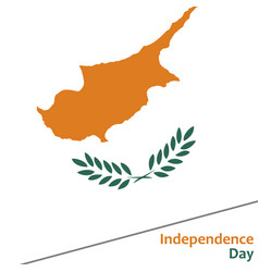 Cyprus independence day vector
