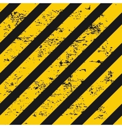 Industry warning background vector image