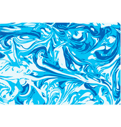 Marbled abstract background liquid marble vector