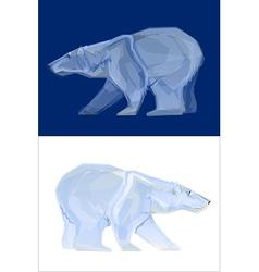Polar bear mascot vector