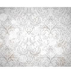 Seamless vintage wallpaper vector
