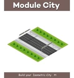 Transportation City streets vector image