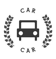 Car icon pictogram vector