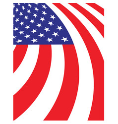 Abstract american fag background vector