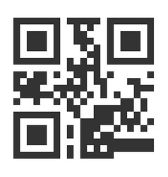 qr code hidden text or url scanning vector image vector image