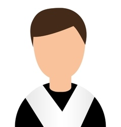Student graduation graduated avatar vector
