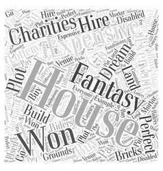 Expensive house word cloud concept vector