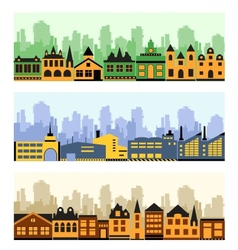 Fragment of the city vector