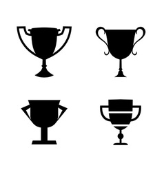 Winner Cup collection vector image