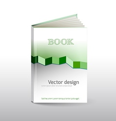 Book layout vector