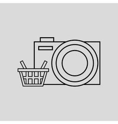 Technology e-commerce buy online vector
