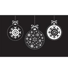 black ball balls background vector image vector image