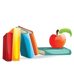 School item vector image vector image