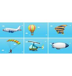 Transportations vector image vector image