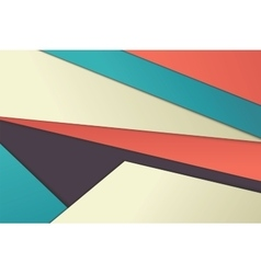 Unusual modern material design vector