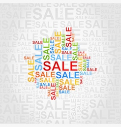 Abstraction sale vector image