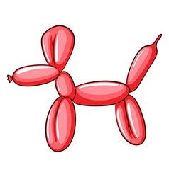 A simple balloon creation vector