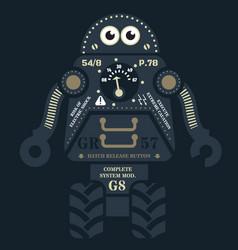 Rolling robot vector