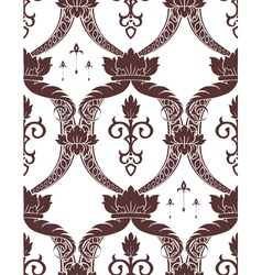 seamless noble pattern vector image vector image