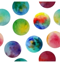 Seamless pattern Watercolor abstract vector image