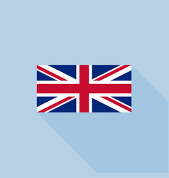 union jack or united kingdom flag vector image