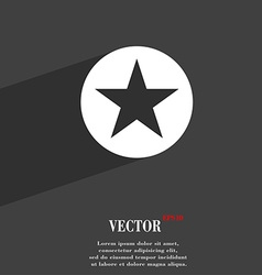 Star favorite icon symbol flat modern web design vector