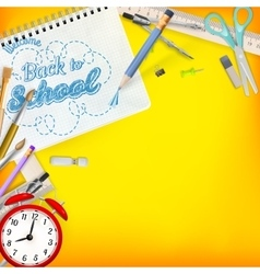 Back to school template concept eps 10 vector