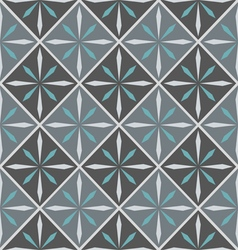 Ceramic tile with seamless pattern vector