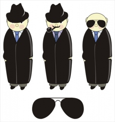 inspector detective vector image