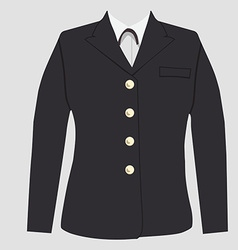 Military uniform vector image