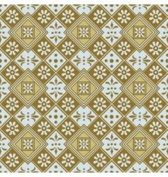 diamonds pattern vector image vector image