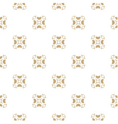 golden ornament gold and white texture geometric vector image