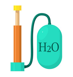 Oxygen pump icon cartoon style vector