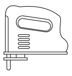 Pneumatic gun icon outline vector
