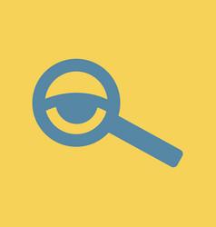 Eyesight check vector