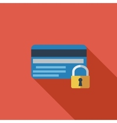 Credit card protection concept vector image vector image